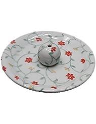 9-33 玉手箱 9cm香皿 お香立て お香たて 陶器 日本製 製造?直売品