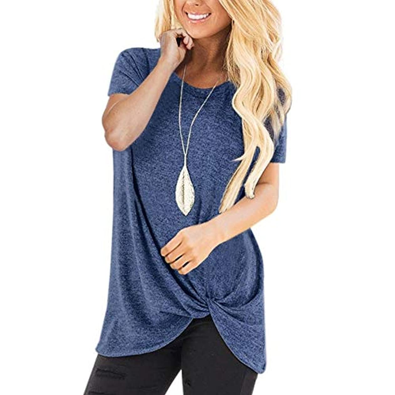 ホイップすき広くMIFAN コットンTシャツ、カジュアルTシャツ、レディースブラウス、トップス&Tシャツ、プラスサイズ、ルーズtシャツ