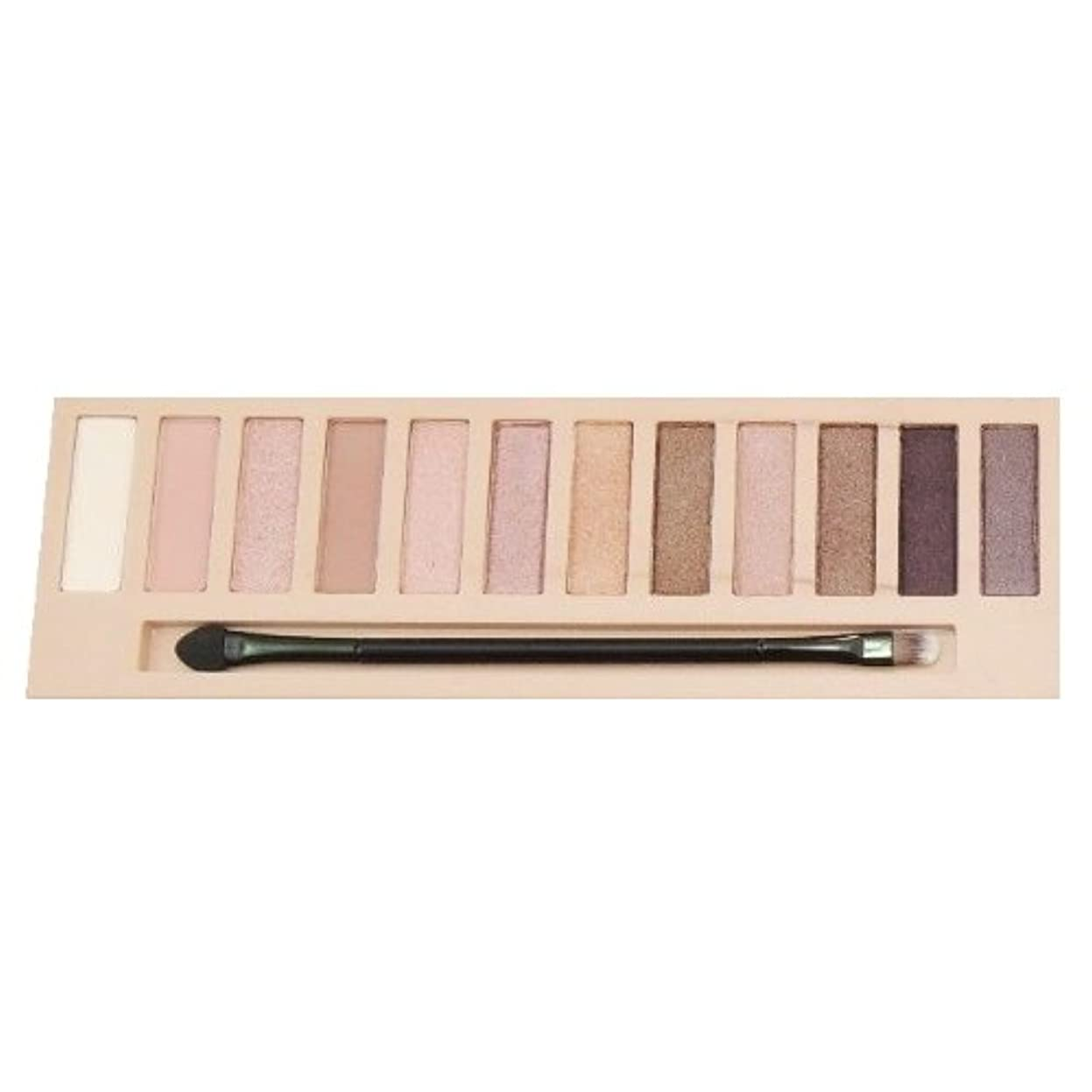 LA GIRL Beauty Brick Eyeshadow Collection - Nudes (並行輸入品)