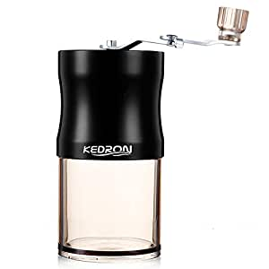 KEDRON 手挽きコーヒーミル セラミック ステンレス コーヒーミル手動