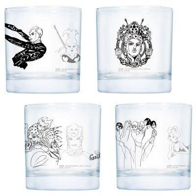 一番くじ ジョジョの奇妙な冒険-第5部-黄金の風 G賞 グラス全4種セット