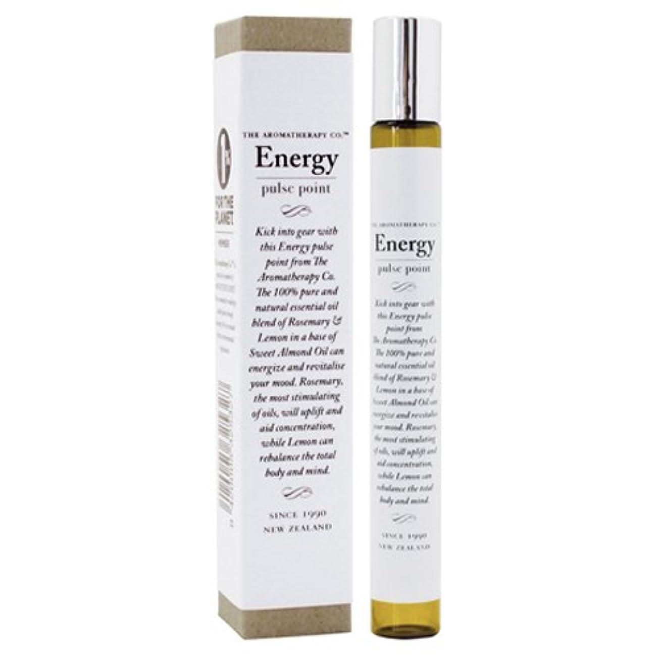 インストールリングバック減衰アロマセラピーカンパニー Therapy Range セラピーレンジ パルスポイント エナジー ロールオンパフューム Energy