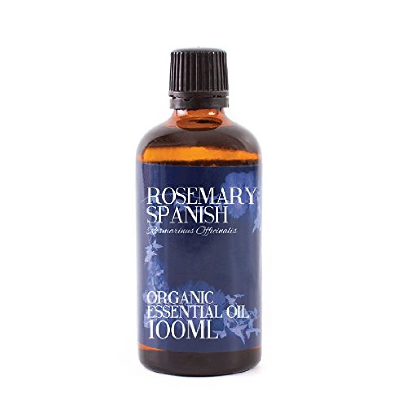 名前を作るモディッシュ面積Mystic Moments | Rosemary Spanish Organic Essential Oil - 100ml - 100% Pure