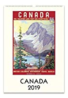 Cavallini Papers & Co. Canada Calendar, Multicolor [並行輸入品]
