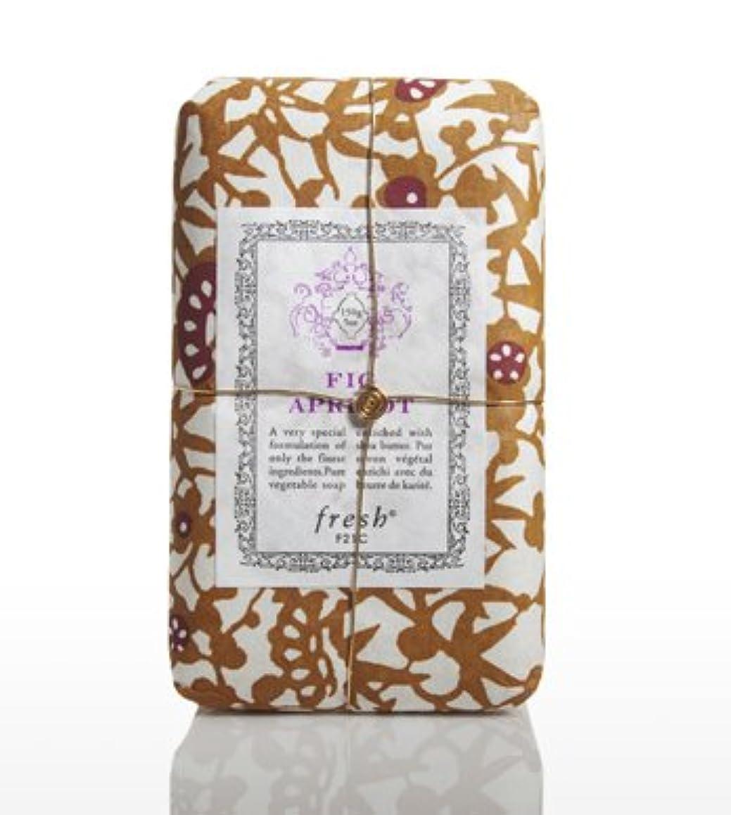 文明保存トライアスリートFresh FIG APRICOT SOAP(フレッシュ フィグアプリコット ソープ) 5.0 oz (150gl) 石鹸 by Fresh