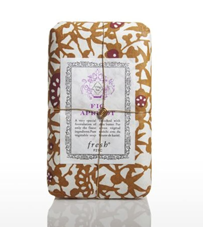 加害者フロー起こるFresh FIG APRICOT SOAP(フレッシュ フィグアプリコット ソープ) 5.0 oz (150gl) 石鹸 by Fresh