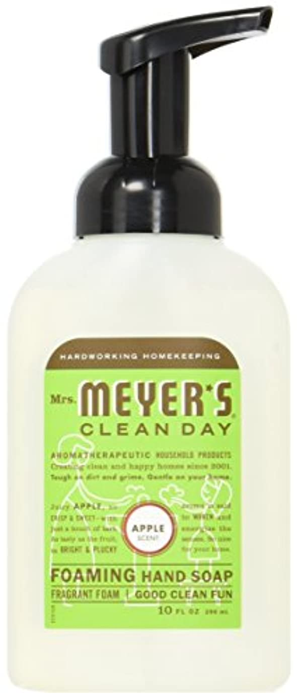 コーンテナントナプキンMrs. Meyer's Foaming Hand Soap, Apple, 10 Fluid Ounce by Mrs. Meyer's Clean Day