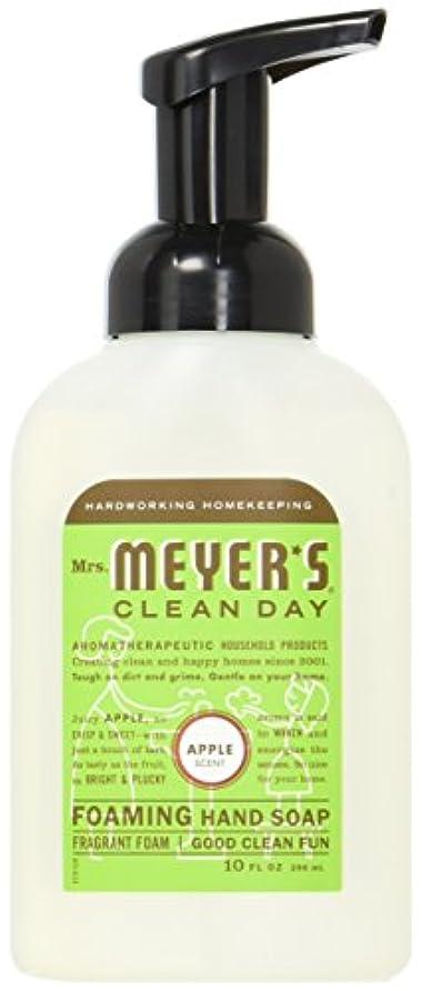 意識的虚偽ベットMrs. Meyer's Foaming Hand Soap, Apple, 10 Fluid Ounce by Mrs. Meyer's Clean Day