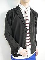 (モノマート) MONO-MART 綿麻 リネン テーラードジャケット シャツ シャツジャケット デザイナーズ 長袖 メンズ 春