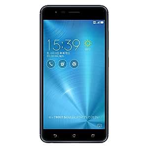 ASUS ZenFone Zoom S SIMフリースマートフォン (ネイビーブラック/5.5インチ)【日本正規代理店品】(Snapdragon 625/4GB/64GB/5000mAh) ZE553KL-BK64S4/A