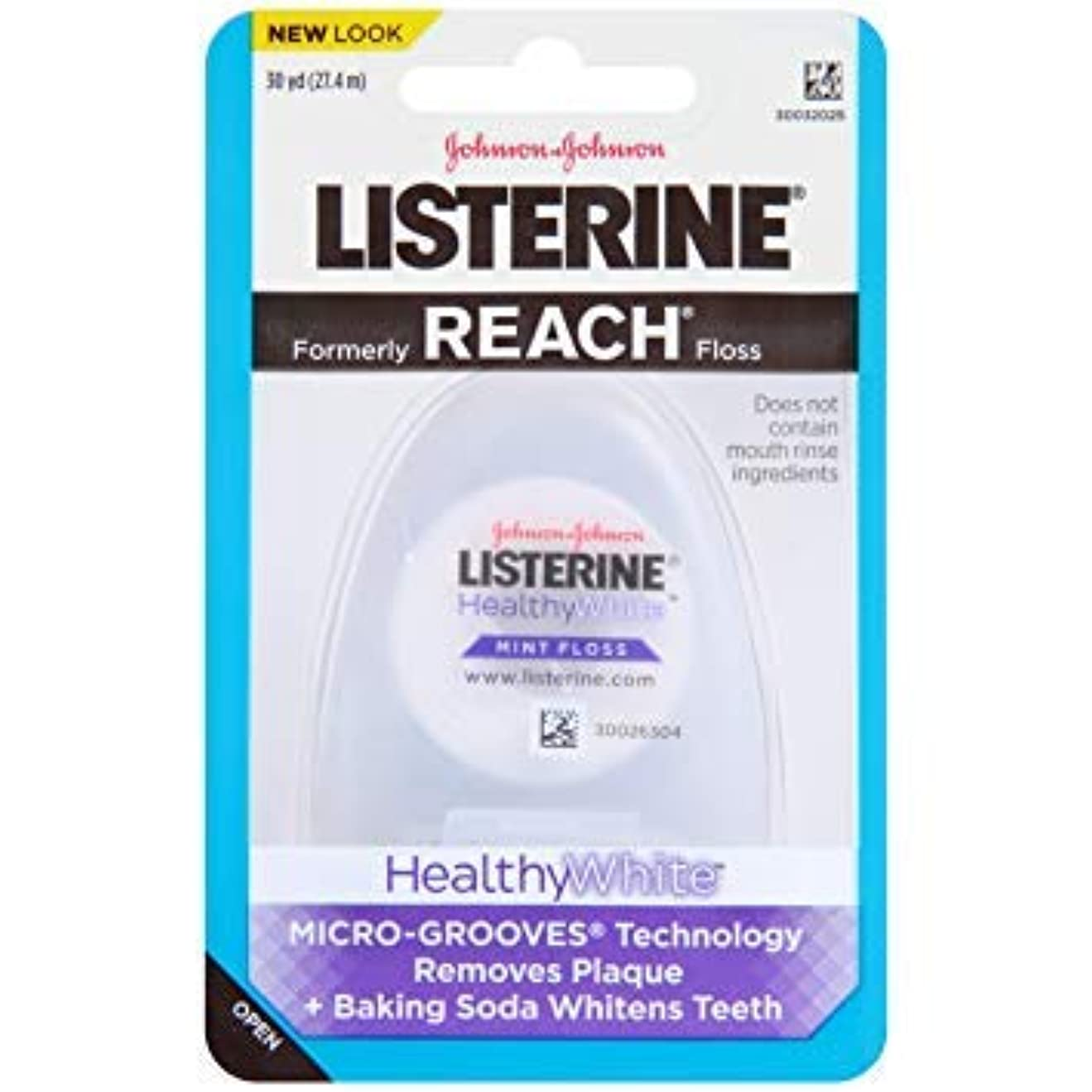 排他的徒歩で西JOHNSON&JOHNSON LISTERINE REACH (healthywhite)