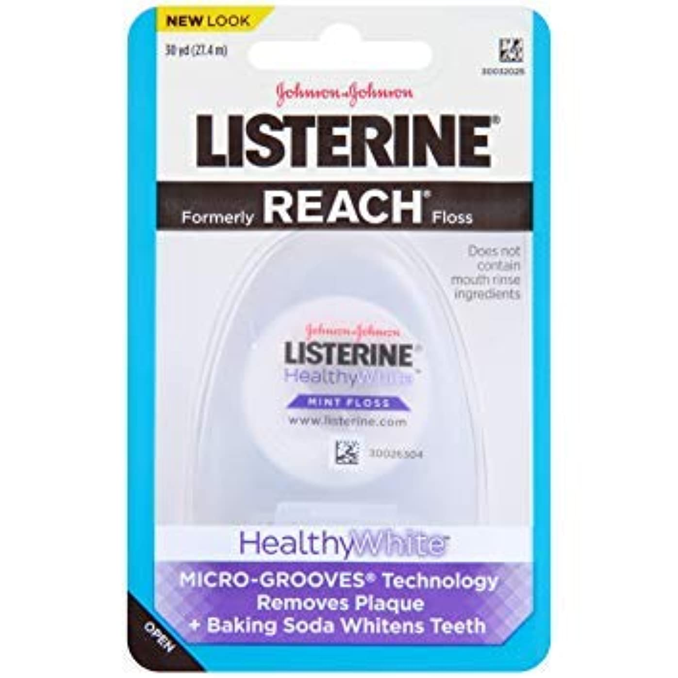 素人生態学デマンドJOHNSON&JOHNSON LISTERINE REACH (healthywhite)
