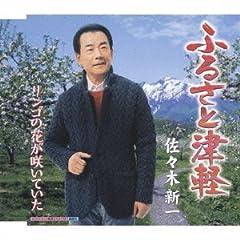 佐々木新一「リンゴの花が咲いていた」のジャケット画像