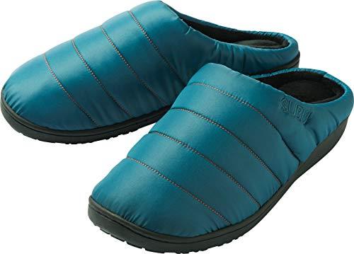 SUBU2018 スブ ソール サンダル 冬のサンダル カーキ レッド ダックカモ ブルー ブラック グレー (0(約21.5-23.5cm), CHANBER BLUE)