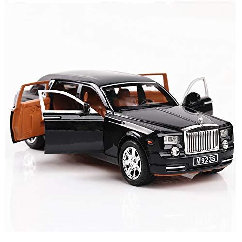 ロールスロイスファントム 1/24スケールィコンポジットダイキャストモデル車モデルの装飾 Rolls-Royce Phantom