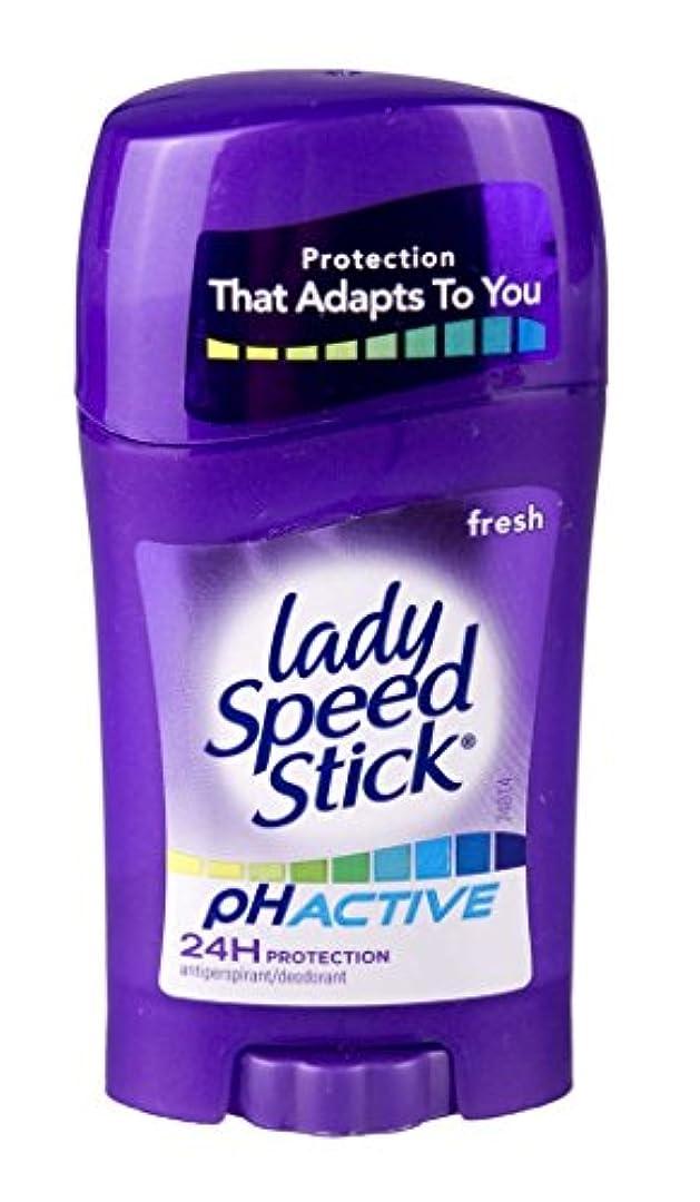 軽減誰もボアレディー?スピードスティックPHアクティブ制汗剤デオドラント固体スティック女性のための45g - Lady Speed Stick PH Active Anti-perspirant Deodorant Solid Stick...