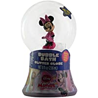 Disney Minnie Mouse Bubble Bath Glitter Globe by MZB Accessories [並行輸入品]