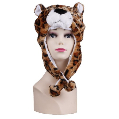 C-Princess animal hats animal hats costume easy makeover animal mask party toy party cosplay costume headdress and cutting items-Panther type