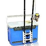 HAMILO ロッドスタンド 吸盤式 タックルボックス 竿スタンド 竿立て 釣り竿 ロッド ホルダー