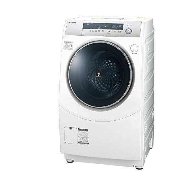 シャープ ドラム式洗濯乾燥機 10kg ホワイト...の商品画像