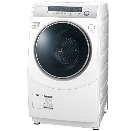 シャープ ドラム式洗濯乾燥機 10kg ホワイト系 ES-H10B-WL