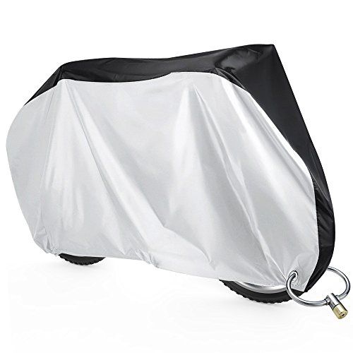 Sahara Sailor 自転車カバー 29インチまで対応 軽量 190Tポリエステル生地 破れにくい 40+UVカット 防水 防犯 風飛び防止 収納袋付き