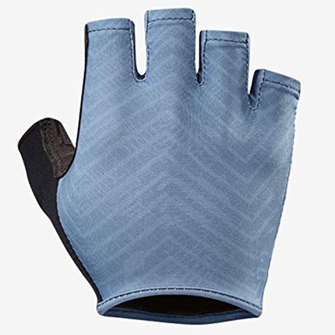 オークランドクスコ出発する新しい男性と女性の空気圧通気性速乾性の短い自転車の乗り物の手袋を指します