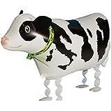 (ビグッド)Bigood ビニール玩具 景品 お散歩バルーン 風船 パーティグッズ 動物 アニマル 誕生日 クリスマス イベント 装飾 お祭り 縁日 乳牛