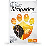 Simparica Dog 5.1-10kg Flea & Tick Treatment, 6pk