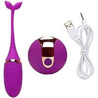 振動卵、防水10周波数シリコンジャンプ卵 - 男性または女性のための最高のマッサージ ( Color : Purple )