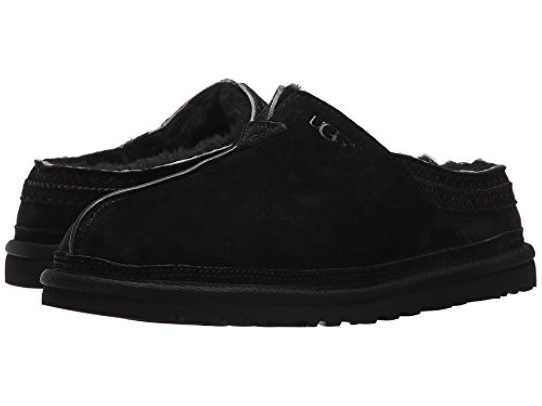 打倒連結する施し[UGG(アグ)] メンズローファー?スリッポン?スリッパ?靴 Neuman Black 8 (26cm) D - Medium