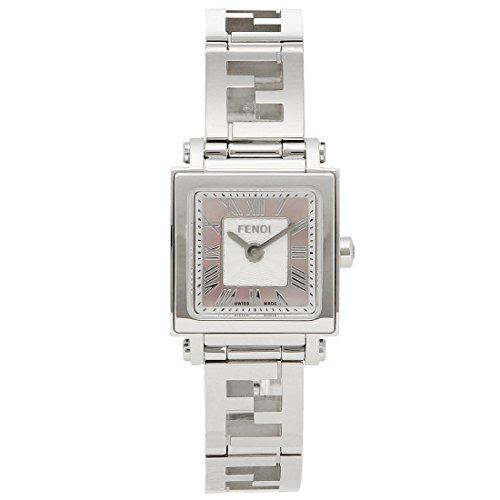 [フェンディ] 腕時計 レディース FENDI F605027500 ピンクパール シルバー [並行輸入品]