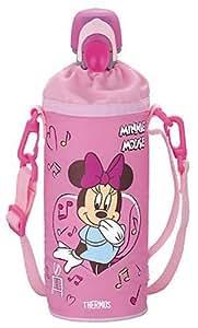 サーモス ペットボトルキャップ&クーラー ディズニー ミニー (500mlペットボトル用) ピンク RDI-500DS P