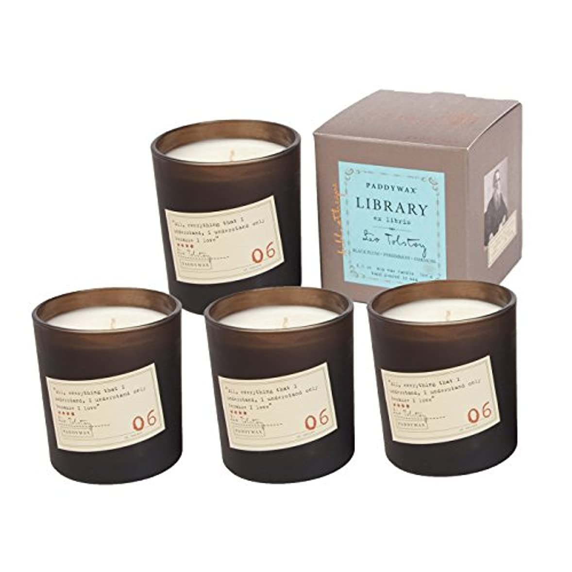 Paddywaxライブラリ6.5オンスCandle – Tolstoy