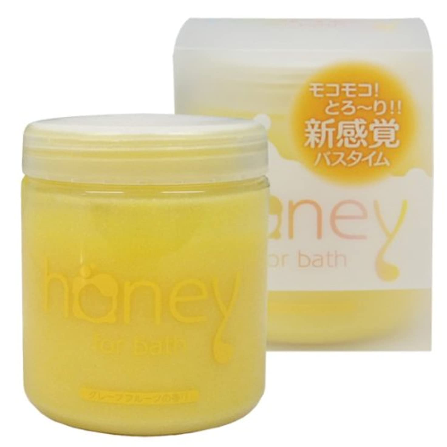 取得行商洗剤とろとろ入浴剤【honey】(ハニー) イエロー グレープフルーツの香り 泡タイプ ローション バブルバス