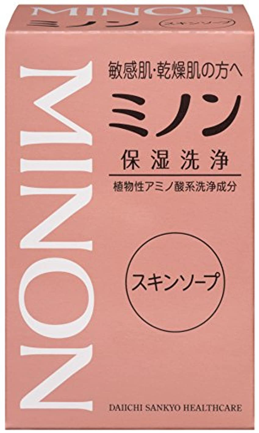 正確に調和のとれた圧縮するMINON(ミノン) スキンソープ 80g