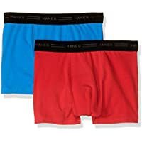 Hanes Boys Underwear Cotton Elastane Trunk (2 Pack)