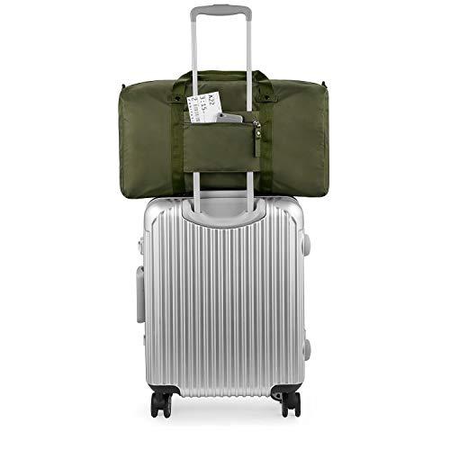 GAGAKU(ガガク) トラベル 旅行用 バッグ 収納カバン 軽量 おりたたみ ブラック 45L