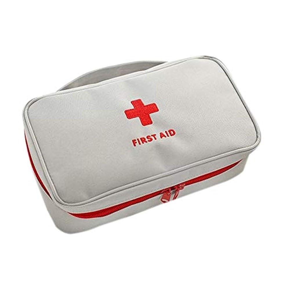 非アクティブ見せます火ZumZup 携帯用救急箱 医療旅行バッグ 薬バッグ 家庭 学校 アウトドア クラブ 旅行 オフィス用 レッド  ホワイト バッグだけ