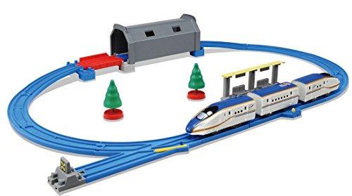 プラレール トンネルを照らそう! ライト付E7系新幹線かがやき ベーシックセット