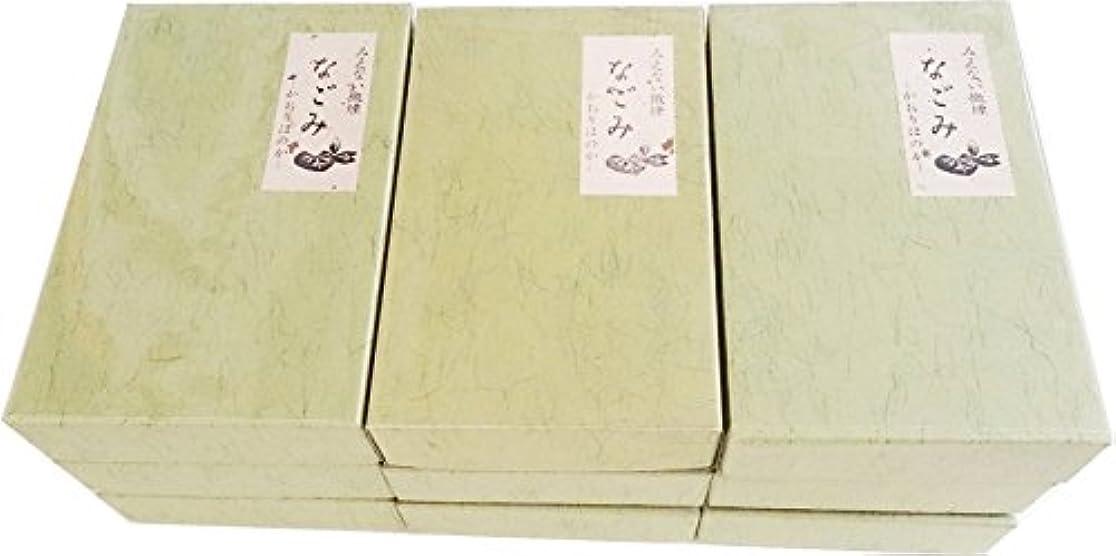 避難するブリッジ労働者淡路梅薫堂の無臭お線香 無香料 なごみ 135g×9箱 バラ詰 #108
