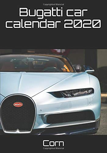 Bugatti car calendar 2020