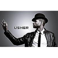Usherポスター40インチx 24インチ/ 21インチx 13インチ 40 inch x 24 inch