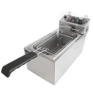 KIPROSTAR 卓上電気フライヤー 1槽式 業務用 PRO-4FLT-F