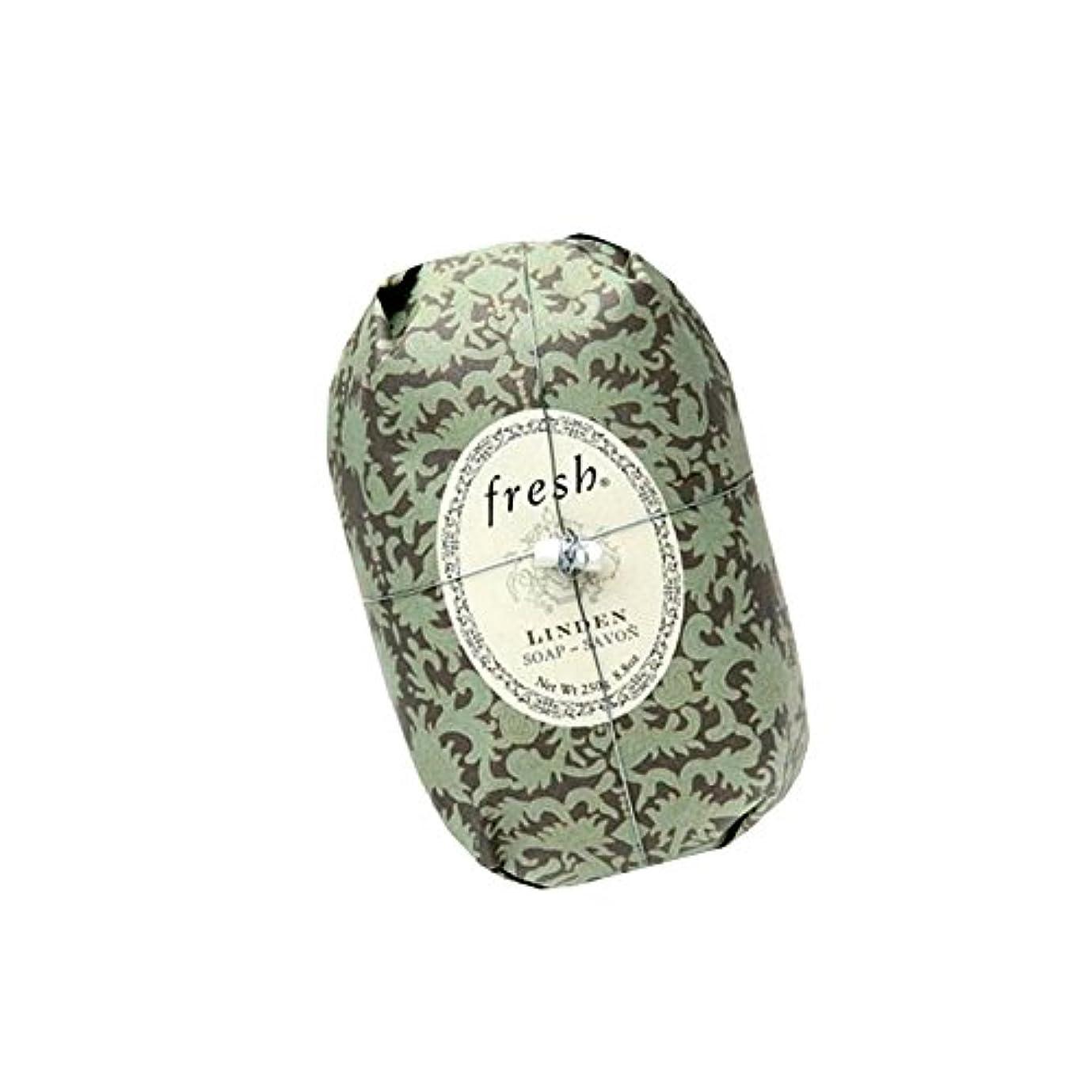 悲観主義者光電入場料Fresh フレッシュ Linden Soap 石鹸, 250g/8.8oz. [海外直送品] [並行輸入品]