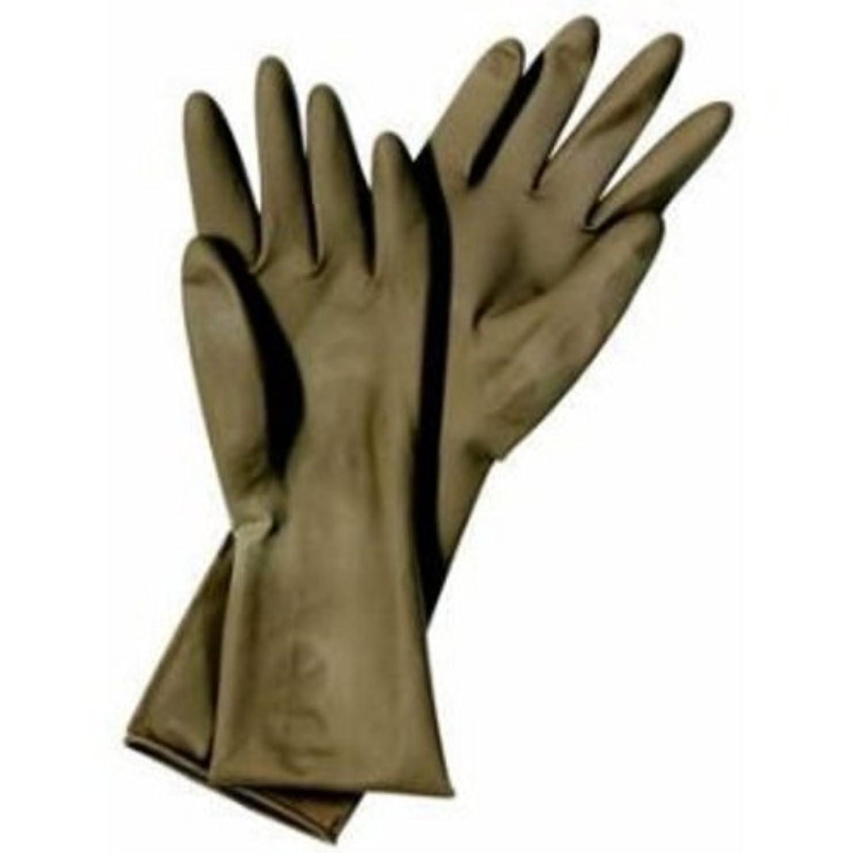 本を読む細部もろいマタドール ゴム手袋 7.5インチ
