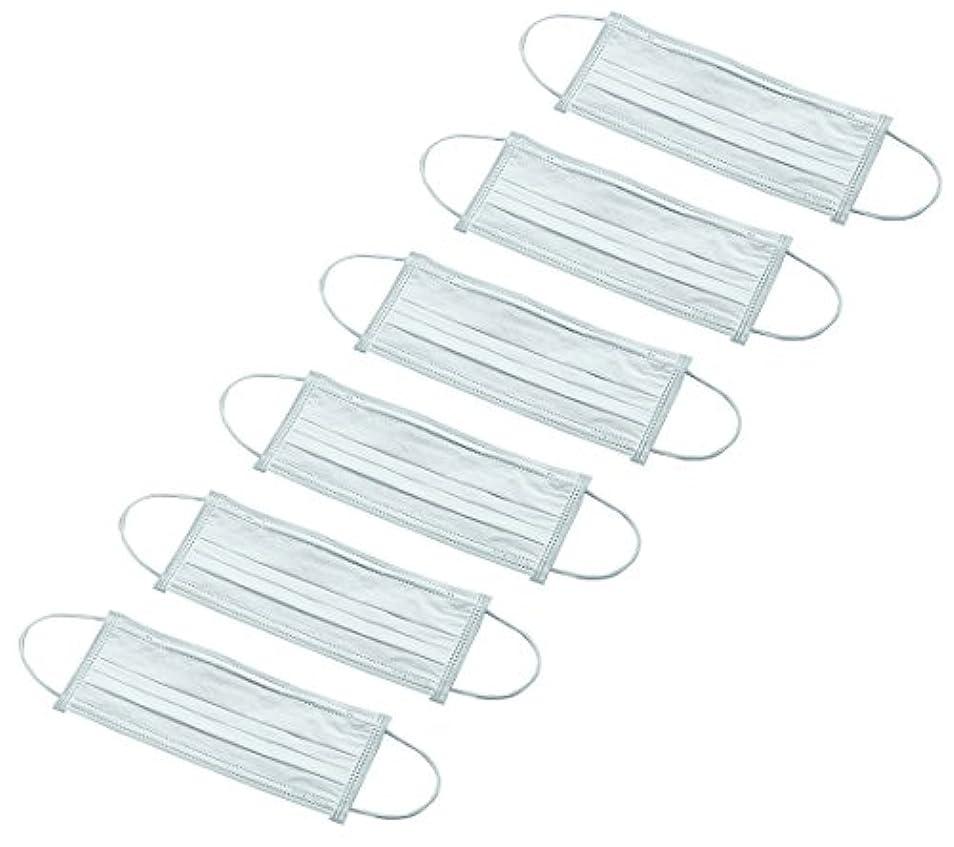 アズワン クリーンルーム用ディスポマスク ワイドタイプ 50枚入 /3-6851-01