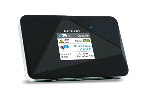 NETGEAR WiFi LTE モバイルルーター SIMフリー B00Z6P4D34 1枚目