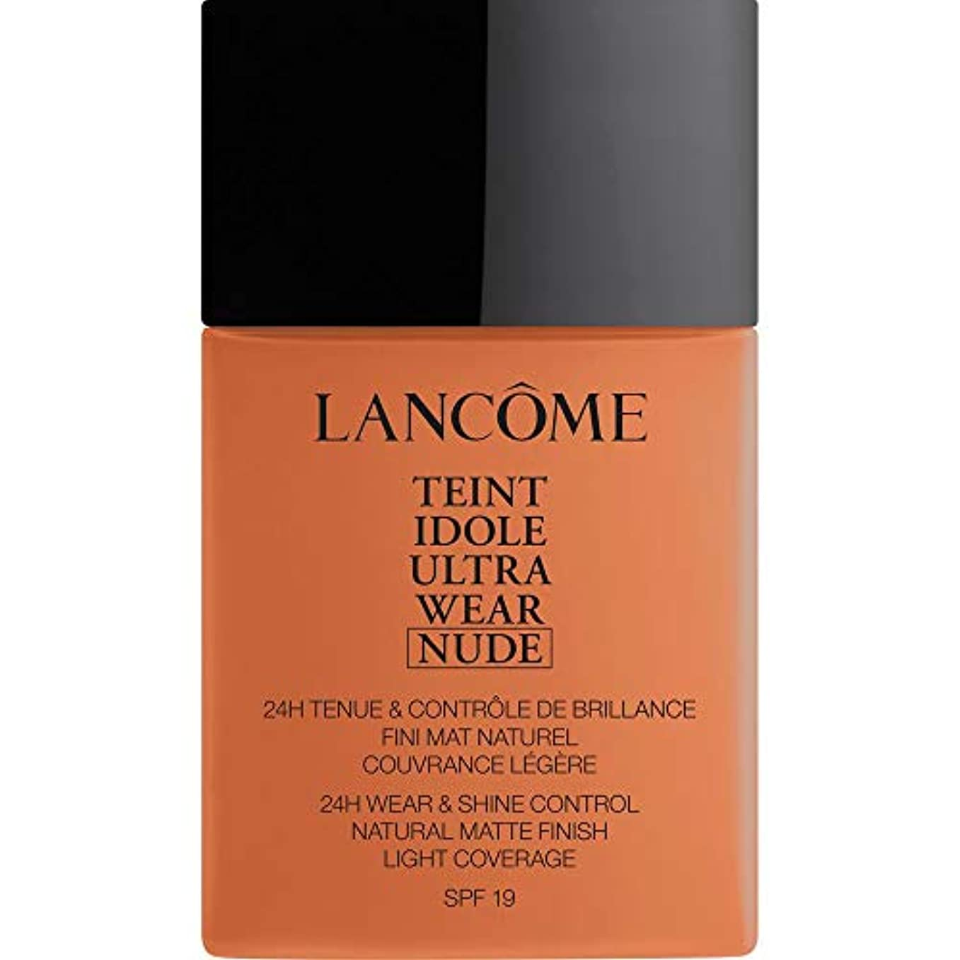[Lanc?me ] ランコムTeintのIdole超摩耗ヌード財団Spf19の40ミリリットル10 - プラリネ - Lancome Teint Idole Ultra Wear Nude Foundation SPF19...