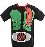 仮面ライダー 大人メンズ なりきり 半袖Tシャツ【22803418】 L 仮面ライダー1号